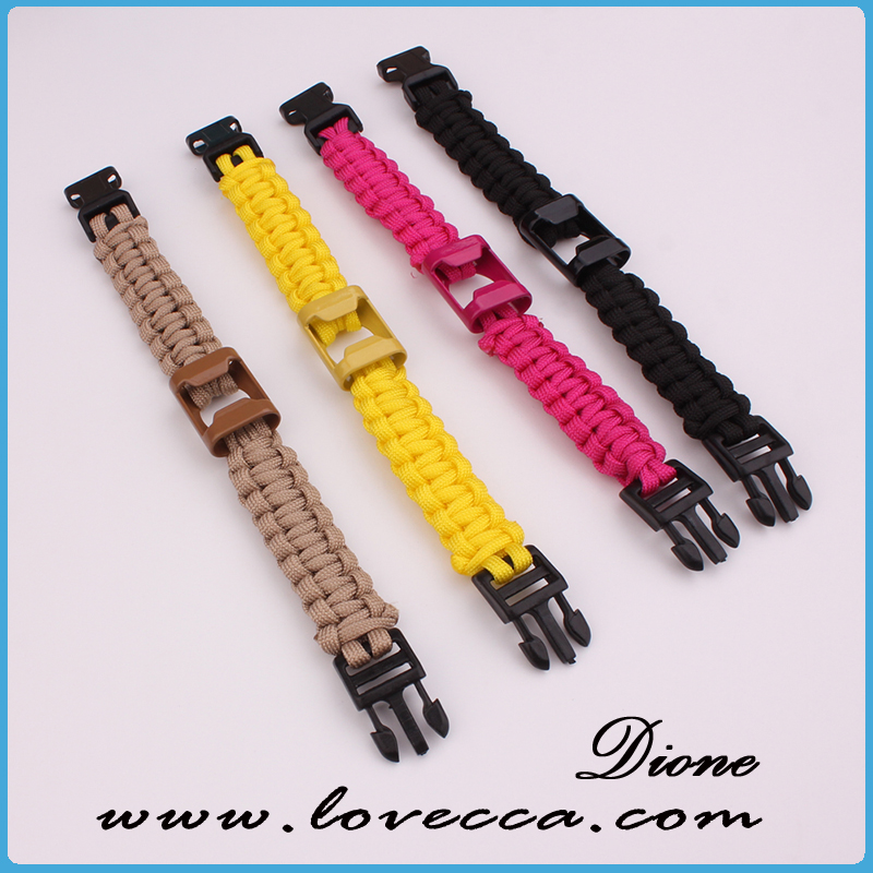 Jewelry Type Paracord Survival Bracelet Brand Name Dione Model Number Pb 24 Place Of Origin China Guangzhou